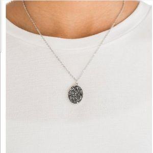 Hematite black necklace